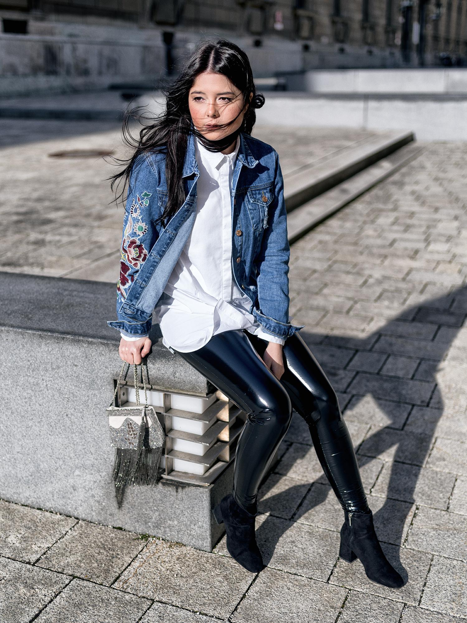 Outfit Lederhose Im Alltag Fashionambit