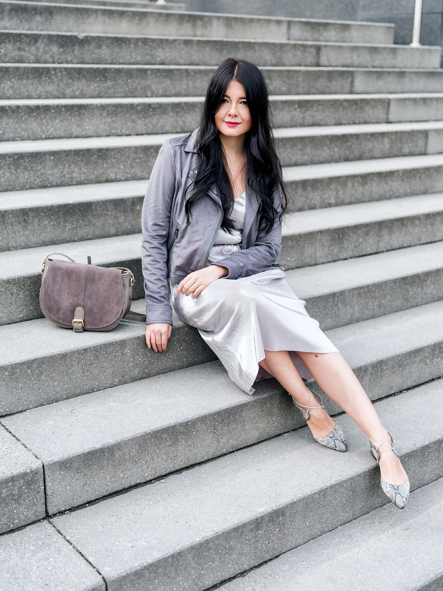 Fashionambit Dress Jacket Flats Bag OASIS