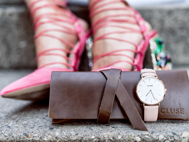 Cluse Watch Pastel Farben Uhr Accessoires Fashionambit