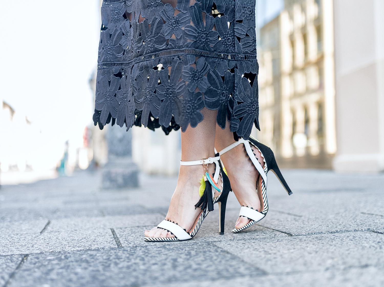 Fashionambit Sommerkleid lang Sommerkleid Spitze Sommerparty Outfit germanblogger