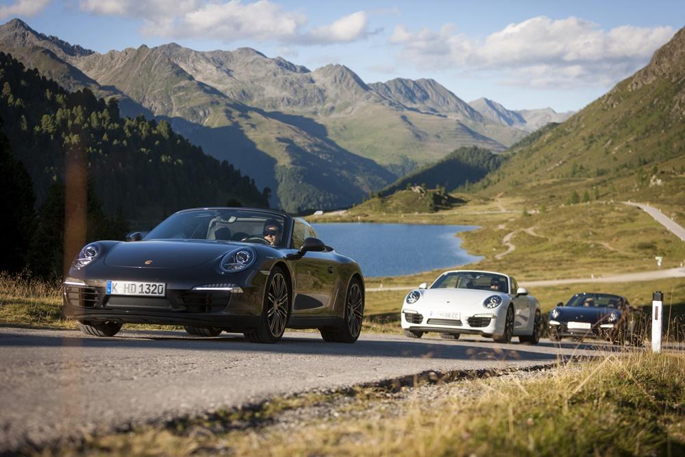Per Porsche direkt vom Hotel über die großen Gebrigsstraßen Osttirols