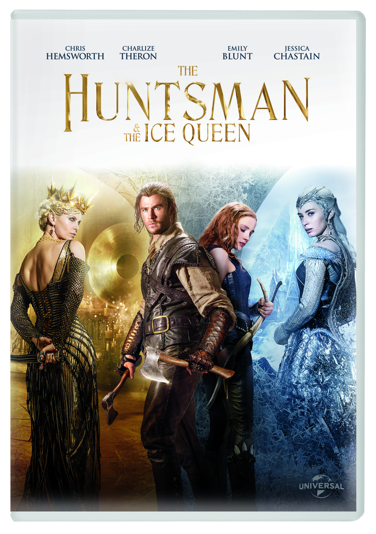 THE HUNTSMAN WINTER'S WAR Germany DVD Rental Sleeve_2PA
